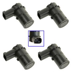 01-11 Ford Lincoln Mercury Multifit Parking Aid/ Reverse Assist Sensor (Set of 4)