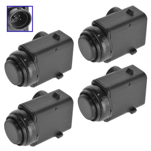98-12 MB C, CL, CLK, E, GL, ML, R, S, SLK Class Multifit Parking Aid/ Reverse Sensor SET of 4