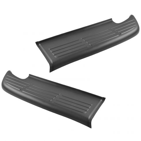 00-02 Toyota Tundra; 03-06 Tundra (exc Step Side) Rear Bumper Upper Rubber Step Pad PAIR