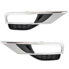 15-16 Honda CR-V Fog Light Bezel Pair