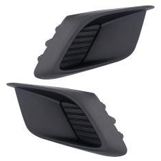 14-16 Mazda 3 Sedan & Hatchback Fog/Driving Light Opening Cover PAIR