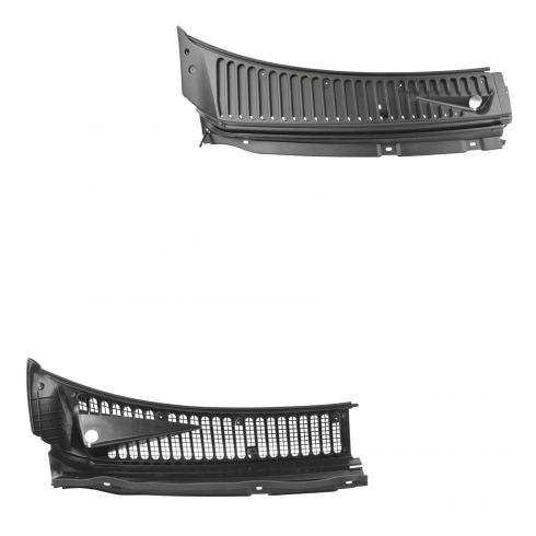 99-07 F250SD-F550SD; 00-05 Excursion Windshield Wiper Vent Cowl Screen Cover Panel Assy PAIR (Ford)