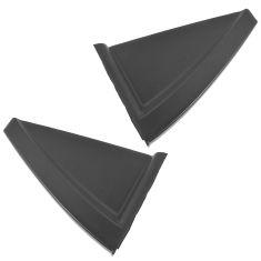 05-10 Kia Sportage Rear Door Mounted Molded Black Plastic Upper Corner Molding Rear Pair (Kia)