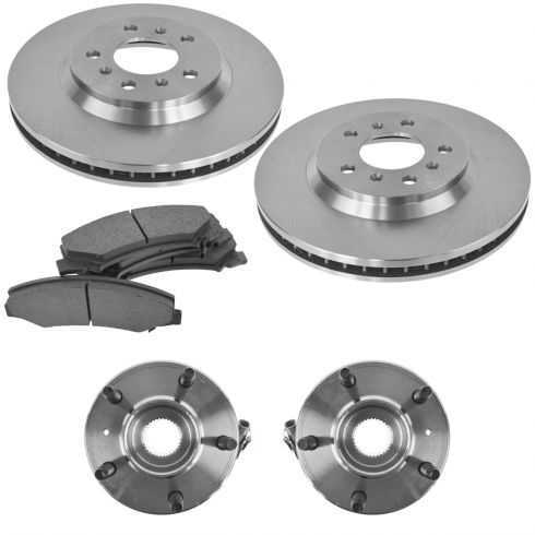 FRONT Ceramic Brake Pads Fits 06-07 Chevrolet Monte Carlo