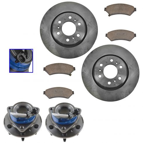 Ceramic Brake Pad for Buick,Chevrolet,Pontiac Saturn Front Brake Rotors