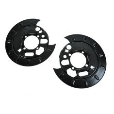 Brake Backing Plate REAR for Models with Rear Disc Brakes PAIR
