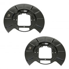 99-04 Jeep Grand Cherokee Rear Disc Brake Backing Plate PAIR