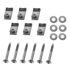 04 Ford F150 New Body; 05-12 F150; 06-08 Mark LT (w/5 Foot Bed) Bed Mounting Hardware Kit (Set of 6)