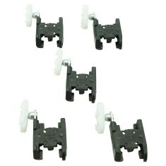 85-93 Buick, Cadillac, Olds; 91-96 Chvy; 85-91 Pntiac Mid & FS Car Window Reg Guide Clip (Box of 5)