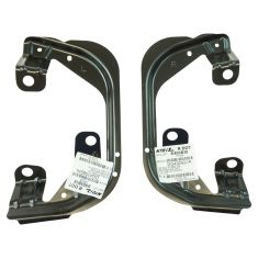 09-12 Ram 1500 (exc Sport); 09-16 2500/3500 Fog Light Bracket Pair