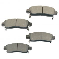 2002-05 Rainer Ascender Envoy Trailblazer SSR Brake Pads Rear