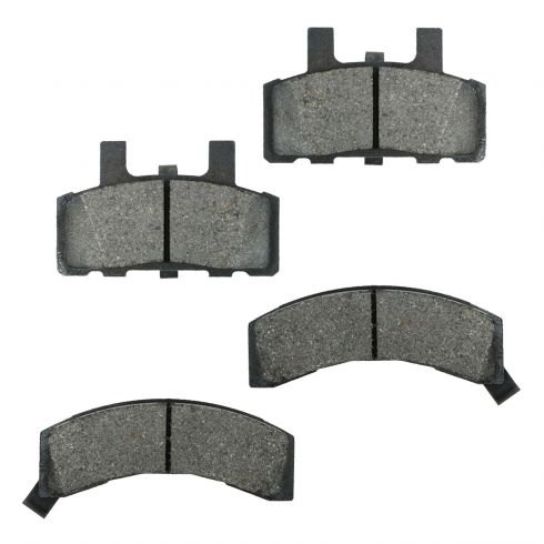 Nakamoto Front Ceramic Disc Brake Pads for Chevy GMC Cadillac Pickup Truck