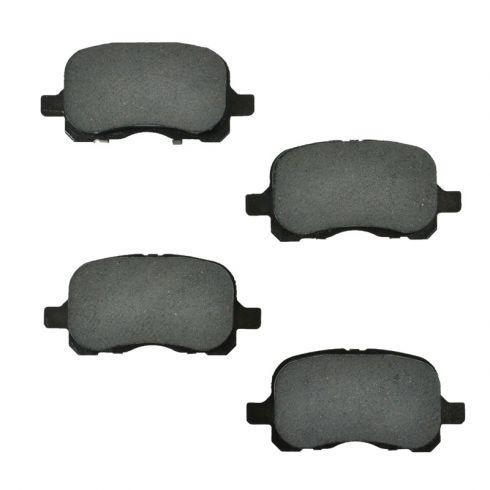 Front 98 99 00 01 02 CorollaPrizm Max Performance Ceramic Brake Pads
