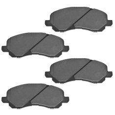 Front Semi-Metallic Disc Brake Pads (Auto Extra AXMD866)