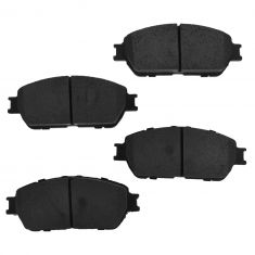 Front Semi-Metallic Disc Brake Pads (Auto Extra AXMD906)