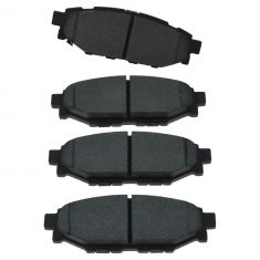 Rear Semi-Metallic Disc Brake Pads (MD1114)