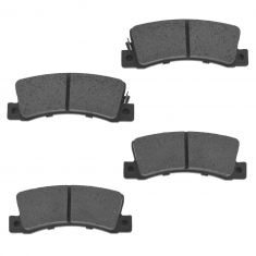 Rear Semi-Metallic Disc Brake Pads (MD325)