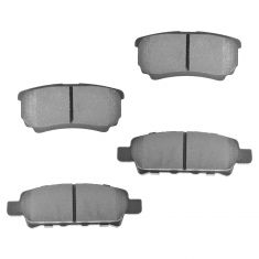 Rear Semi-Metallic Disc Brake Pads (MD1037)