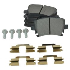 Rear Semi-Metallic Disc Brake Pads (MD1108 /MD1348)