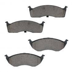 Front Ceramic Disc Brake Pads (CD591)