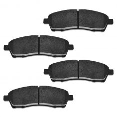 Rear Semi-Metallic Disc Brake Pads  (MD757)
