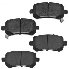 Rear Semi-Metallic Disc Brake Pads  (MD1326)