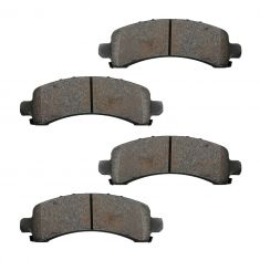 Rear Semi-Metallic Disc Brake Pads (MD974)