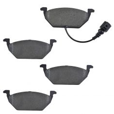 Front Semi Metallic Disc Brake Pads w/Female Oval Sensor (MD768ES)