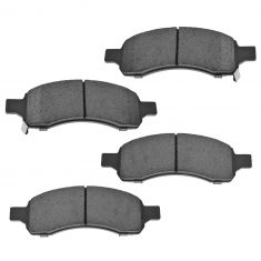 08-14 Buick Enclave;  09-14 Traverse; 07-14 Acadia; 07-10 Outlook Fr Ceramic Brake Pads (CD1169A)
