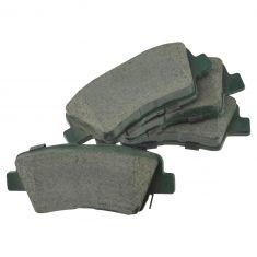 11-12 Elantra (non touring); 12-13 Veloster; 12-14 Rio Rear Posi Ceramic Brake Pad Set