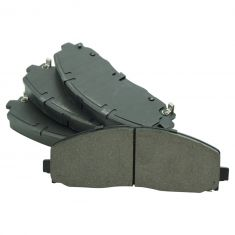 17 Pacifica; 12-16 T&C; 11-17 GC; 12-17 Jounrey; 12-15 C/V; 12-14 Routan Front Ceramic Pads