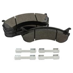 98-11 Ford International MD Truck Semi-Metallic Brake Pad Set