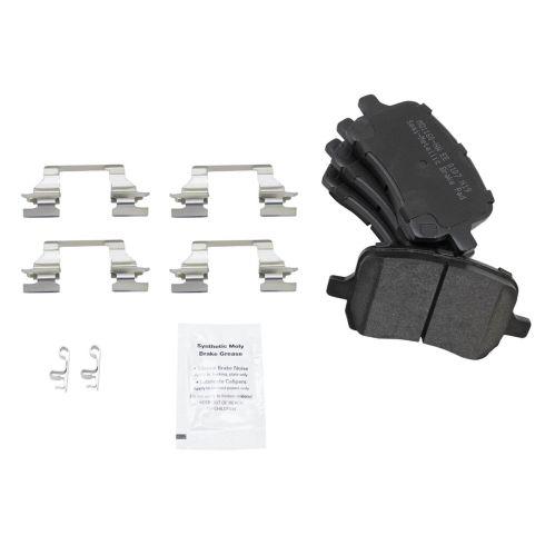 Semi-Metallic Brake Pad Set