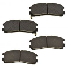 91-00 Dodge; 92-98 Eagle; 88-10 Mitsubishi Rear OE Sumitomo Disc Brake Pad Set