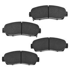 07-14 Acura RDX; 05-14 Honda CR-V; 05-10 Odyssey; 10-14 Crosstour Front Disc Brake Pad Set (HONDA)