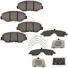 02-06 Honda CR-V; 12 CR-V (w/2wd, North Amer Blt); 13-16 CR-V w/2wd Front Disc Brake Pad Set (Honda)