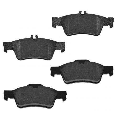 06 MB CLS500; 07-11 CLS550; 03-09 E320; 06-09 E350; 03-06 E500; 07-09 E550 Rear Disc Brake Pads (MB)