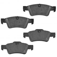 05-15 MB G; 07-12 GL, R; 07-11 ML Class Rear Disc Brake Pad Set (Mercedes Benz)