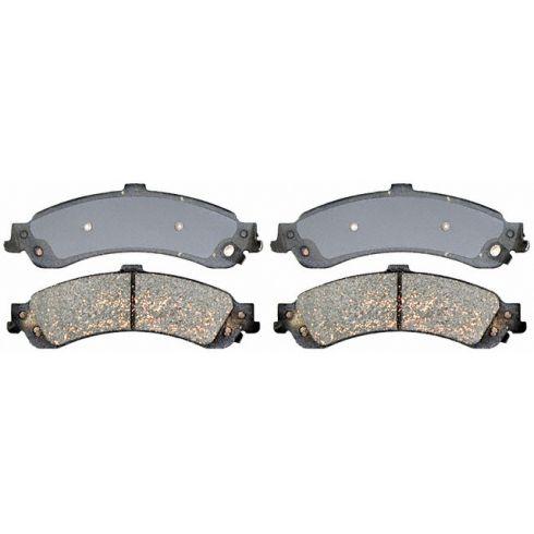 Raybestos Service Grade Disc Brake Pads - Ceramic - Rear SGD834C