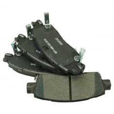 Raybestos Service Grade Disc Brake Pads - Ceramic - Rear
