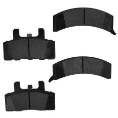 Front Element 3 Hybrid Disc Brake Pads w/ HW (Raybestos EHT369H)