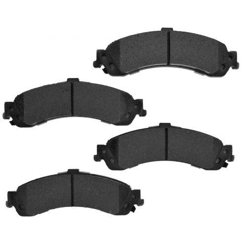 Rear Element 3 Hybrid Disc Brake Pads w/ HW (Raybestos EHT834H)