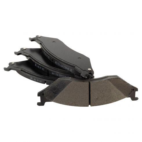 Disc Brake Pads Professional Grade Semi-Metallic Parts Plus by Raybestos PPB834M