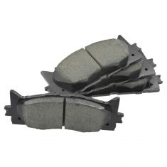07-09 ES350; 08-09 Avalon; 07-15 Camry, Hybrid Front Disc Ceramic Brake Pads w/Shims Kit (Toyota)
