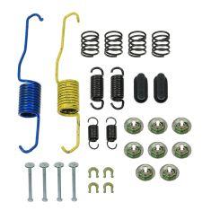 87-06 Camry; 99-03 Solara; 82-83 Celica; 96-02 Rav4 (w/228mm x 40mm Brakes) Rear Brake Drum Hwre Kit