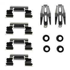 00-06 Chevy, GMC FS P/U, SUV; 02-06 Escalade, ESV, EXT w/4wd Frnt (w/4WS), Rear Caliper Hardware Kit