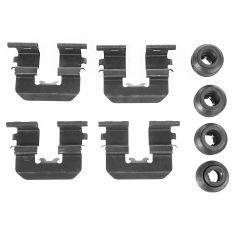 12-14 Accent, Elantra; 11-14 Optima Rio Rear Brake Pad Hardware Kit