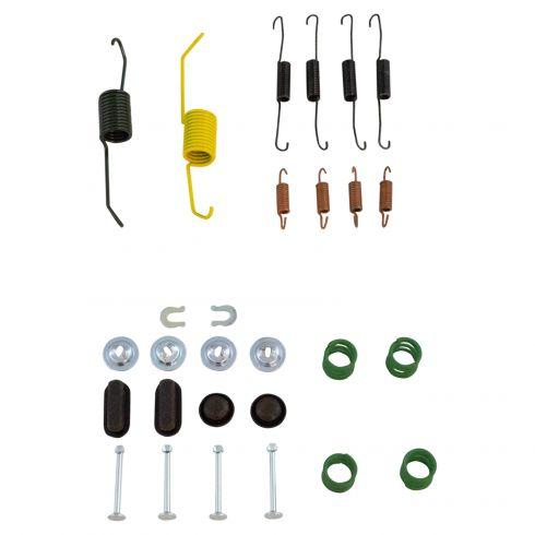 Complete Rear Brake Drum Hardware Kit for Toyota COROLLA 2007 2008 JAPAN BUILT