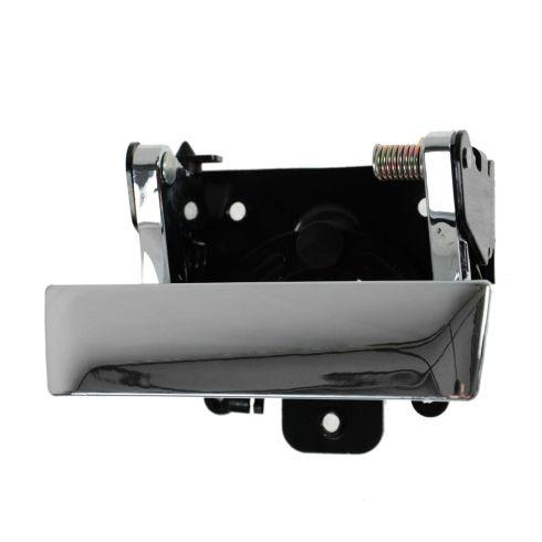 07-12 Silverado, Sierra (New Bdy); 09-10 Hummer H3T Chrome Tailgate Handle w/o Lock Provision