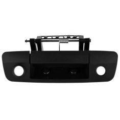 09-11 Dodge Ram 1500; 10-11 2500, 3500 (w/RR Camera Provision) Textured Black Tailgate Handle